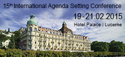 15th International Agenda Setting Conference